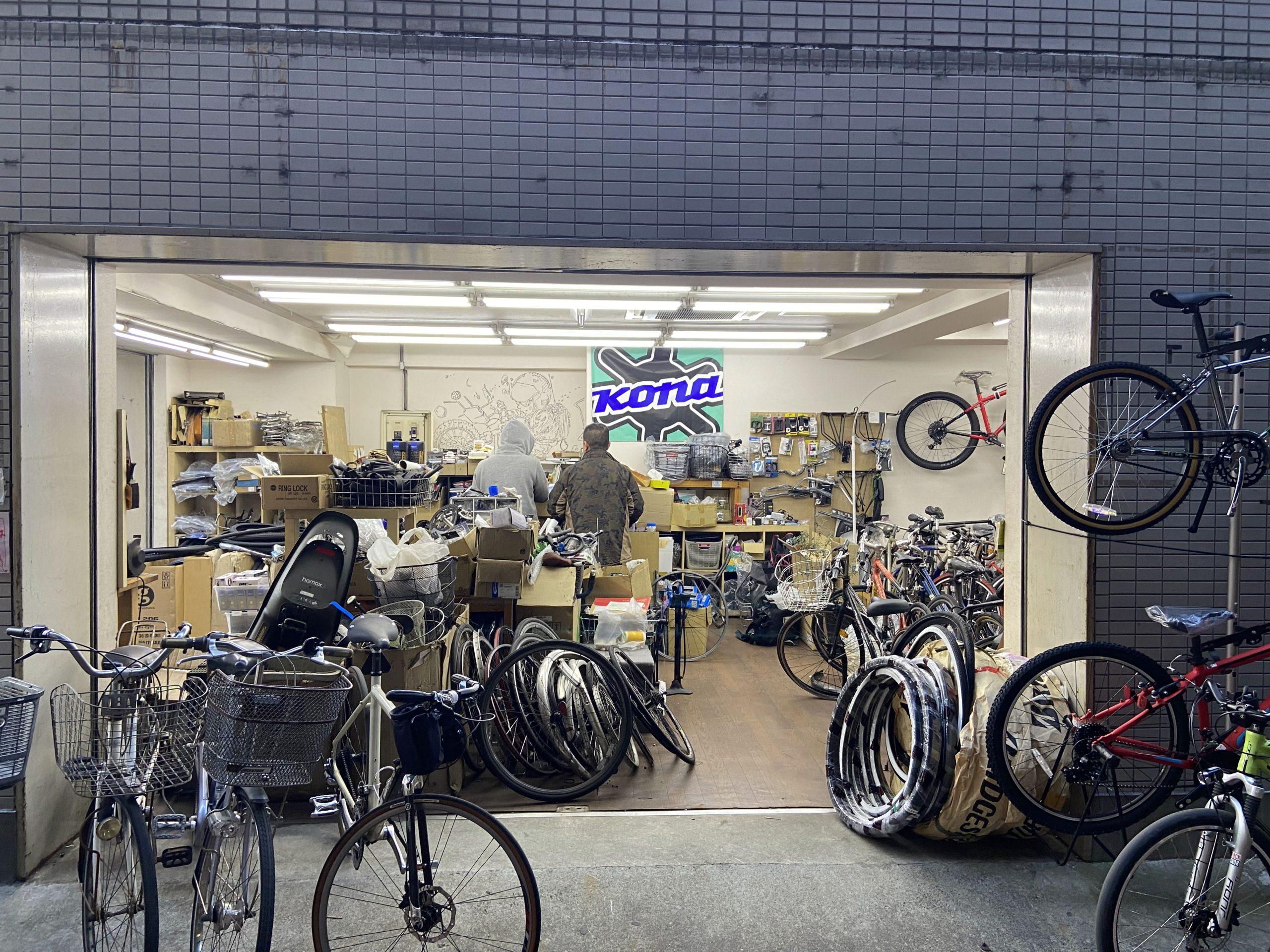 自転車屋 KUZUHA